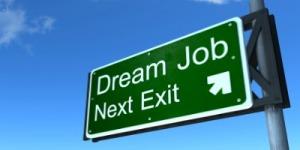 dream job sign 400x200
